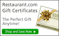 Restaurant.com Gift Certificates. The Perfect Gift Anytime! Shop and Save Now.